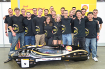 2016 Cal Poly Supermilage Competition Team